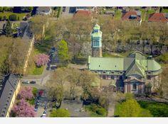 Kirche St.Peter in Rheinhausen, Rheinhausen,  Duisburg, Ruhrgebiet, Duisburg-West, Nordrhein-Westfalen, Deutschland