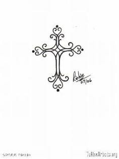 Small Cross Tattoos For Women by Abigalea
