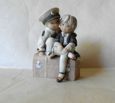 Items similar to Vintage Enesco Little Sailor Boy and Girl Figurine Our Love Keeps Me Afloat Kim Anderson Dog Days Sale on Etsy Etsy Vintage, Vintage Items, Sale On, New Pins, Our Love, Dog Days, Sailor, Boy Or Girl, Boys