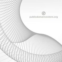 Abstract vector background created with lines.