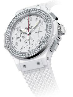 white Hublot Big Bang women's watch