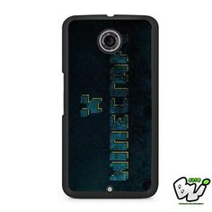 Blue Minecraft Logo Nexus 6