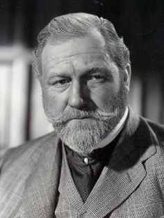 James Robertson Justice - (June 15, 1907 - July 2, 1975) popular character actor of the 1940s-60s, reportedly fluent in 20 languages. Had an impressive baritone.