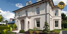 Find home projects from professionals for ideas & inspiration. Elegantly proportioned city house nestled into a Conservation Area by Des Ewing Residential Architects Modern Georgian, Georgian Homes, Conservation, Liberty House, Residential Architect, Property Design, Classical Architecture, House Architecture, New Builds