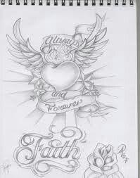 Always n Art 🎨 Rose Drawing Tattoo, Tattoo Design Drawings, Heart Tattoo Designs, Pencil Art Drawings, Love Drawings, Tattoo Sketches, Art Sketches, Graffiti Tattoo, Graffiti Drawing