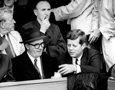 Dave Powers and JFK