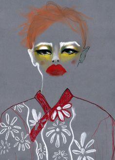 Simone Rocha by Alina Zamanova