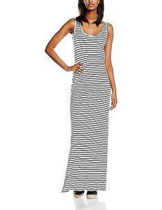 Size 6 (Manufacturer Size:X-Small), Snow White, Vila Women's Honesty Dress NEW
