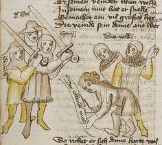 Thomasin <Circlaere>   Welscher Gast (b) Nordbayern (Eichstätt?), um 1420 Cod. Pal. germ. 330 Folio 30v