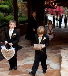 Heart Wedding Sign, HERE COMES the BRIDE, Rustic wedding decor. $36.00, via Etsy.