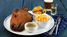 The Norwegian dish, smalahove, is a smoked sheep's head served with rutabaga.