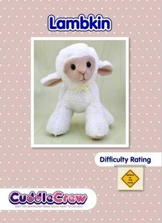 lamb Soft Toy Sewing Pattern. Sheep | Craftsy