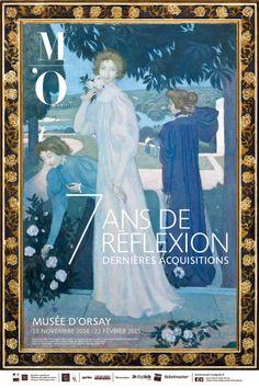 7 ans de réflexion au Musée d'Orsay : Affiche