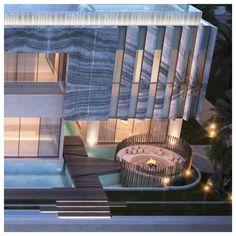 Private villa the palms Jumaira Dubai sarah sadeq architects