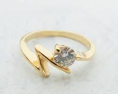 gold ladies pinky rings - Google Search