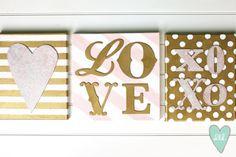 Valentines Canvas DIY by DesignLovesDetail.com!