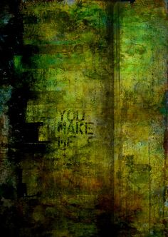 You Make Me Think Im Better by David Mowbray    Abstract in Mixed Media