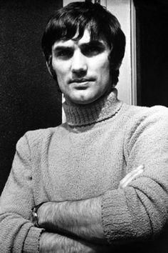 George Best of Man Utd in 1966.