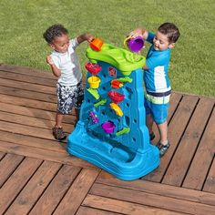 Waterfall Discovery Wall - Activity Toys Direct - TP Toys and Toys - Activity Toy Specialists for the UK (Pour Water Activities) Outdoor Games For Toddlers, Best Outdoor Toys, Outdoor Play, Outdoor Living, Tabletop, Sand And Water Table, Kids Sand, Sand Play, Toys For 1 Year Old