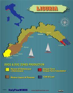 Liguria wine -#Wine #Wineeducation #Italy