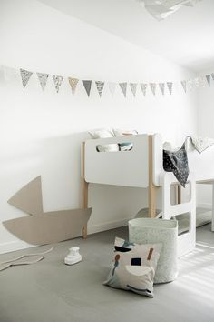 cute little bunk bed