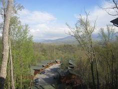Smoky Mountain National Park from our cabin