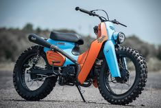 The Knobby-Tired Honda Super Scrambler Cub Is Ready To Shred Womens Motorcycle Helmets, Motorcycle Types, Scrambler Motorcycle, Motorcycle Art, Motorcycle Travel, Motorcycle Girls, Custom Motorcycles, Vintage Motorcycles, Cars And Motorcycles