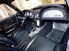 1963 Z06 interior View