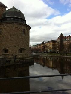 Örebro Castle (over 700 years old).