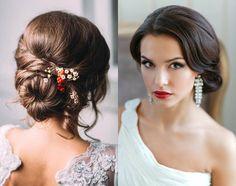 Romantic Low Bun Wedding Hairstyles 2017   Hairdrome.com