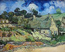 Vincent van Gogh - Campos en Cordeville, en Auvers-sur-Oise (1890).