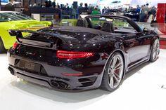 2015 TechArt Porsche 911 Turbo S Cabriolet (Geneva International Motor Show 2015)