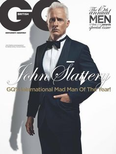 Magazine Review: GQ UK 15 Annual Men Of The Year - Cover #3