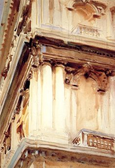 John Singer Sargent Palazzo Corner della  Ca Grande
