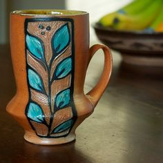 Marissa Domanski Pottery  Love the shape!