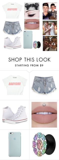 """Blake Gray Imagine #2"" by jasmine-the-basic-penguin on Polyvore featuring Converse"