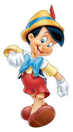 pinocchio--a cartoon crush I had at 8. He reminded me of a boy named jackson before him, in third grade.