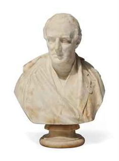 A VICTORIAN MARBLE BUST OF THE DUKE OF WELLINGTON  BY MATTHEW NOBLE (1818-1876)