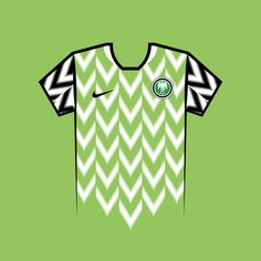 Vote for your favourite World Cup shirt! Nigeria World Cup Shirt Vector World Cup Shirts, World Cup Teams, Team Shirts, Sport Wear, Your Favorite, Russia, Soccer, Football, Kit