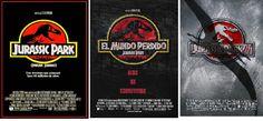 Os Melhores Filmes em Torrent: TRILOGIA JURASSIC PARK Dublado 1993, 1997, 2001 Bl...