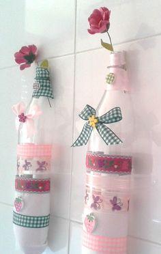 Personaliza todo con Arkes: Ideas decorativas con botellas de plástico (la casera)
