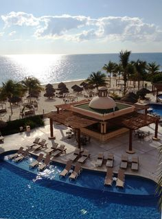 Excellence Riviera Cancun - All Inclusive, Mexico Need A Vacation, Vacation Deals, Vacation Destinations, Vacation Trips, Dream Vacations, Vacation Spots, Cancun Vacation, Spring Vacation, Excellence Riviera Cancun