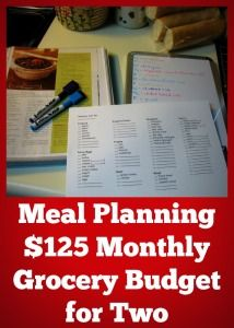 Meal Planning is the key to cutting your grocery budget no matter the size of your family. Learn what other ways you can plan in addition to meal planning.