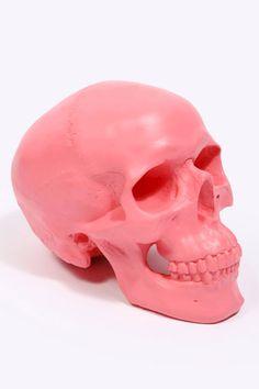 Bright Skull Money Bank.