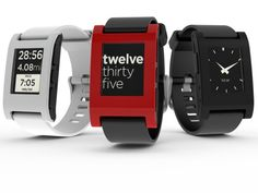 Pebble: E-Paper Watch for iPhone and Android by Pebble Technology, via Kickstarter.