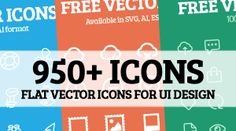 Free flat vector icons for UI Design #flaticons #vectoricons #freeicons #uidesignicons #mobileicons #webicons #iconfont