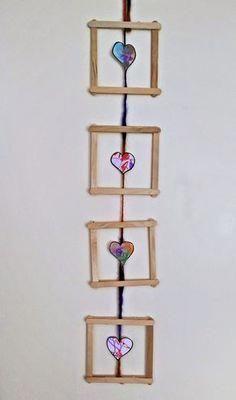 regalos para la mejor madre #regalosdeldíadelamadre Crafts For Seniors, Diy Crafts For Kids, Fun Crafts, Arts And Crafts, Paper Crafts, Popsicle Stick Crafts, Popsicle Sticks, Craft Stick Crafts, Preschool Crafts
