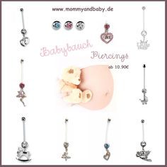 baby belly piercing collection >>> http://www.mommyandbaby.de/fuer-schwangere/schwangerschafts-piercings.html
