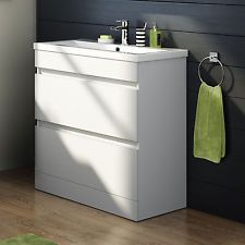 Details About Tall Bathroom Cabinet With Laundry Basket Wide