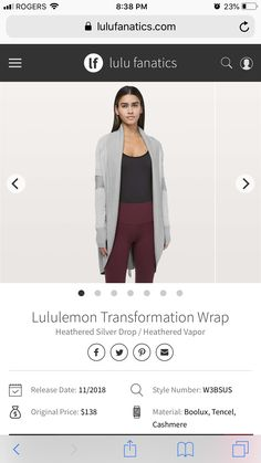 96b686d8 48 Best Lulu scubas, jackets and sweaters images in 2019 | Lululemon ...